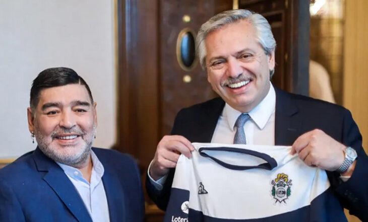 """Alberto Fernández y la muerte de Maradona: """"Diego era Argentina en el mundo y nunca le vamos a poder pagar tanta alegría"""""""