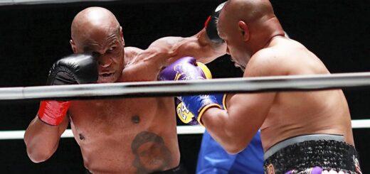 Mike Tyson volvió al boxeo a los 54 años y tuvo un gran nivel ante Roy Jones Jr.
