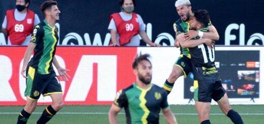 Copa de la Liga Profesional: Aldosivi venció a Estudiantes por un gol y lo dejó último