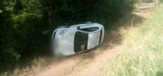 Un conductor salió ileso de un despiste en la ruta 103 enSan Martín