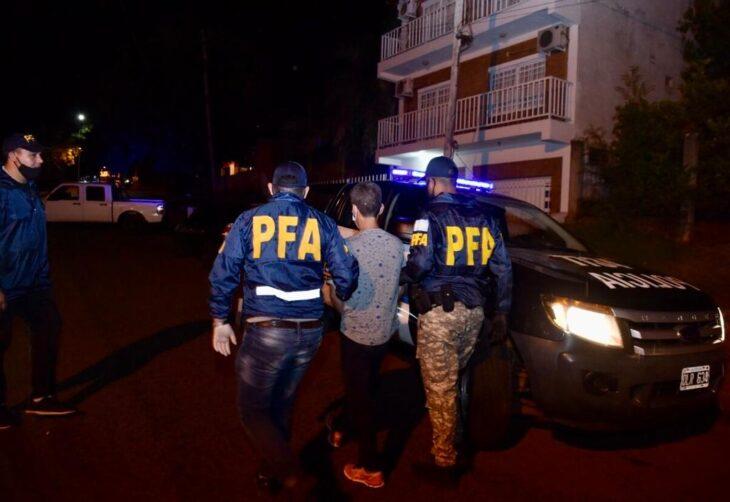 Puerto Iguazú: la Policía Federal desactivó un búnker de drogas
