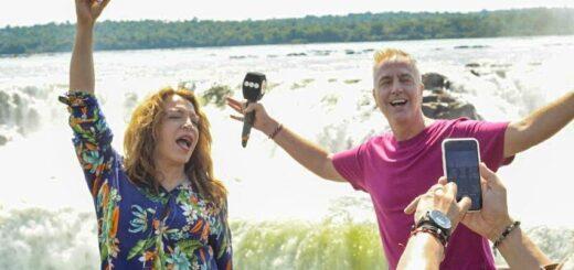 Mirá el programa completo de Marley y Lizy Tagliani en los atractivos naturales de Misiones