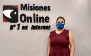"""Natalia Velozo, primera mujer que compite para presidir el Colegio de Abogados de Misiones: """"Transparencia y mayor representatividad nos piden los colegas"""""""