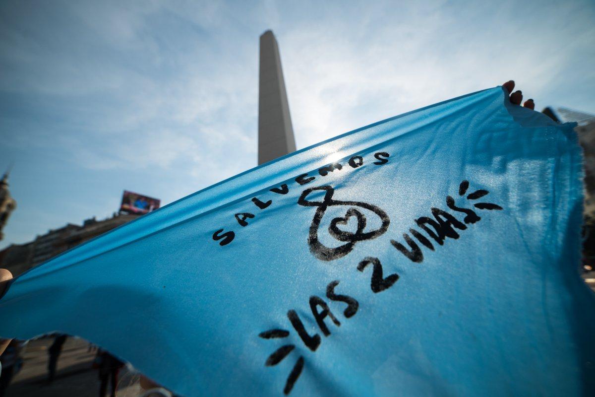 marcha en contra del aborto legal