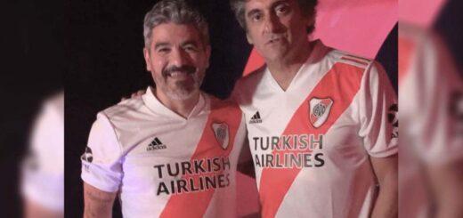 River Plate presentó su nueva camiseta