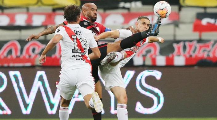 Atlético Paranaense ya suma 15 bajas para enfrentar a River por casos de coronavirus en su plantel