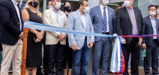 Leonardo Stelatto participó de la inauguración de la Fábrica de NanoSensores IOT en Posadas