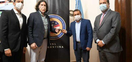 El Gobierno de Misiones recibió móviles para el Grupo Conjunto de Lucha Contra el Narcotráfico