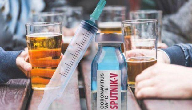 Las personas que se coloquen la vacuna rusa de Covid-19 no podrán tomar alcohol por 42 días