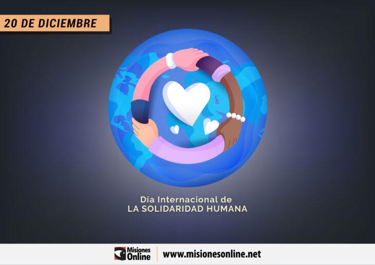 ¿Por qué se celebra hoy el Día Internacional de la Solidaridad Humana?