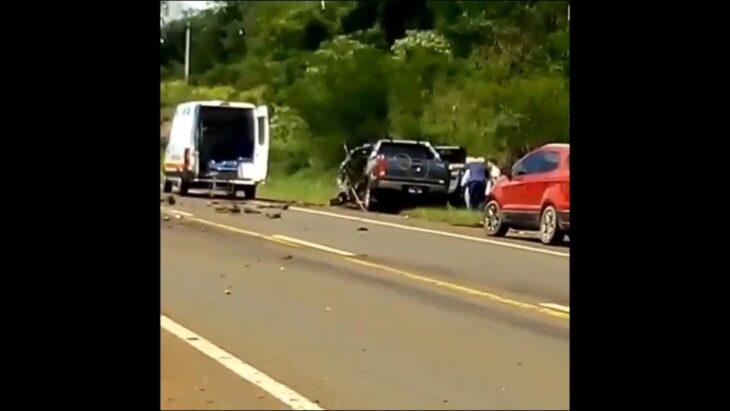 Trágico accidente en Misiones: un joven falleció tras el choque entre una camioneta y un camión en Alem