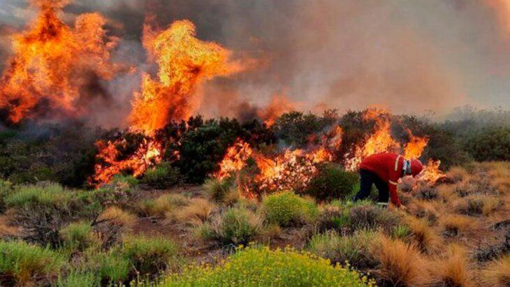 Según el reporte nacional, hay focos activos de incendios en Córdoba, Neuquén y Misiones