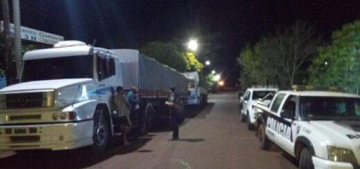Interceptaron dos camiones que evadieron controles en Misiones con soja sin aval