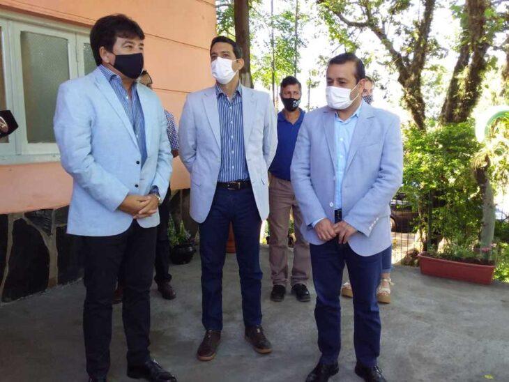 Oscar Herrera Ahuad inauguró un centro de monitoreo en Puerto Piray