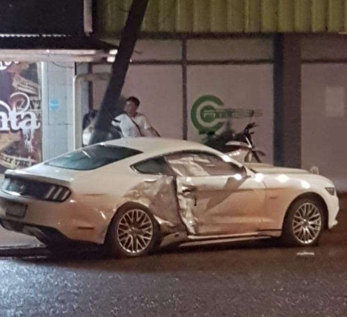 La alarmante y peligrosa moda de las picadas de autos en Eldorado habría provocado el triple choque del sábado