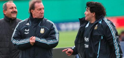 El plan para contarle a  Carlos Bilardo que murió Diego Maradona