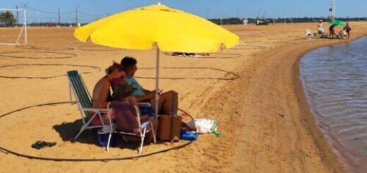 Con la prueba piloto en la playa Costa Sur de Miguel Lanús, Posadas se prepara para el inicio del verano