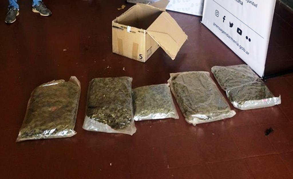 marihuana en encomiendas