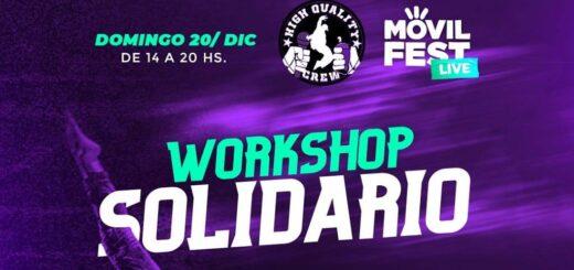Domingo solidario: profesores de Danzas Urbanas y Hip-hop organizan un workshop para colaborar con donaciones de alimentos para merenderos de Posadas