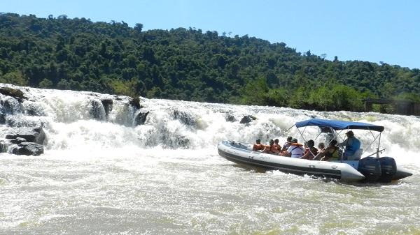 Turismo: los Saltos del Moconá, uno de los atractivos más visitados en los primeros días del fin de semana extra largo