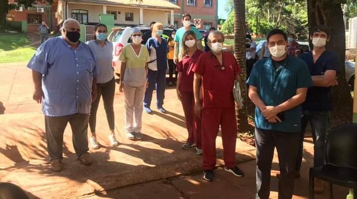 Señalan que hay entusiasmo y expectativas en los trabajadores del Hospital de Puerto Iguazú por el inicio de la campaña de vacunación contra el Covid-19