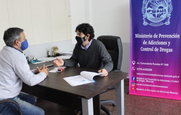 """""""Fue un año de mucho aprendizaje"""", analizó Samuel López, ministro de Prevención de Adicciones y Control de Drogas"""