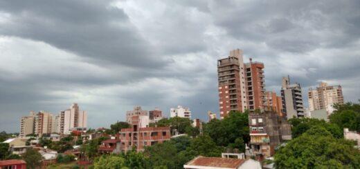 Así se acerca la tormenta a Posadas: en otras localidades se registraron lluvias provenientes de la zona Norte de la provincia