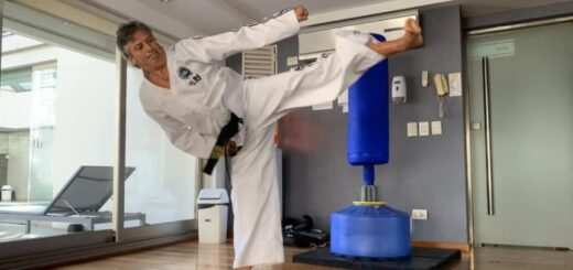 """Adrián Desiderio presentará su libro """"Taekwondo + Salud"""" y brindó detalles durante una entrevista exclusiva con Radio Libertad"""