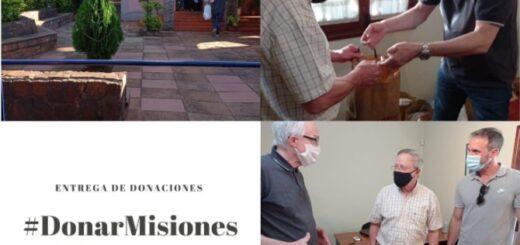 Fundación Praxis entregó las donaciones recibidas a la Parroquia Santos Mártires