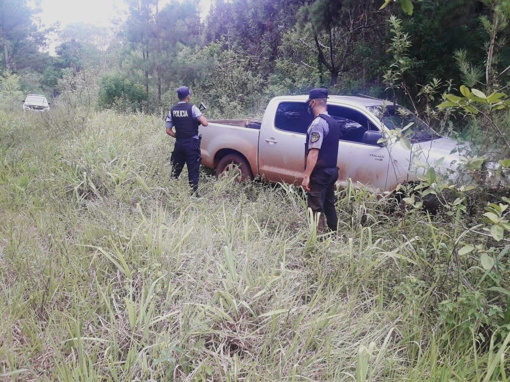 Desbaratan banda criminal del norte de Misiones y recuperan dos camionetas robadas