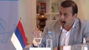 """Herrera Ahuad propuso ante el Consejo Regional del Norte Grande """"resolver los temas urgentes para activar el empleo y dar seguridad sanitaria"""""""