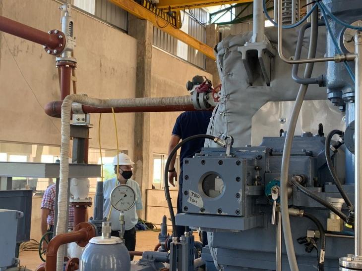 Lichowski y Quintana visitaron la planta de Bioenergía Molino Matilde de Cerro Azul
