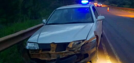 Conducía borracho un auto con seis jóvenes a bordo y despistó en Campo Ramón