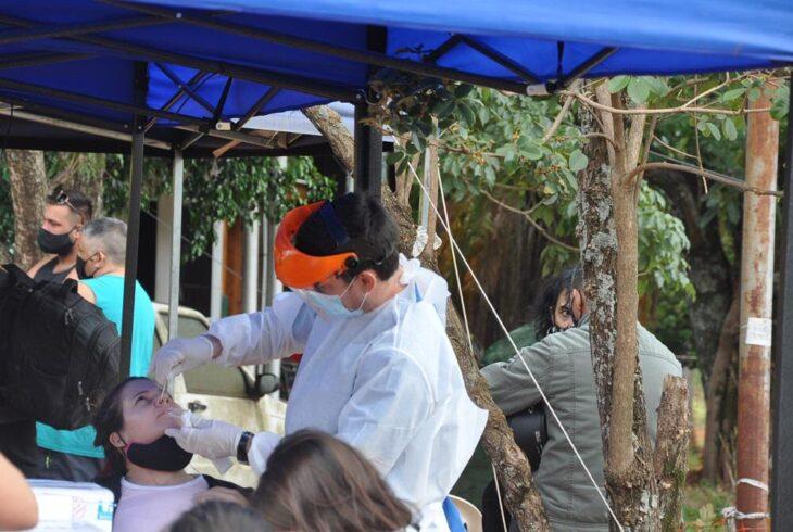 Coronavirus: más de 900 testeos se realizaron en los ingresos a Misiones este fin de semana