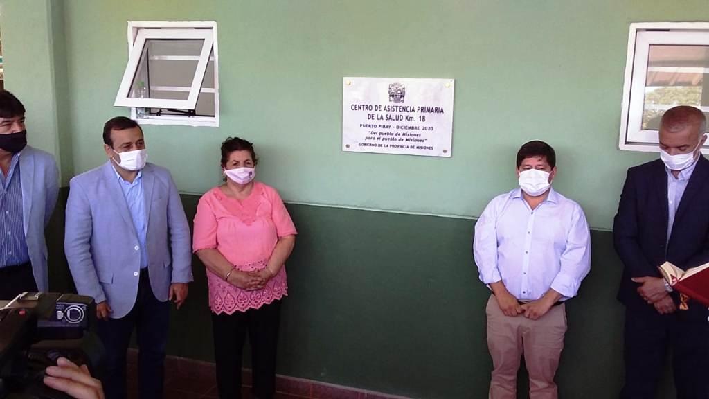 Se inauguró el CAPS del kilómetro 18 en Puerto Piray, Misiones