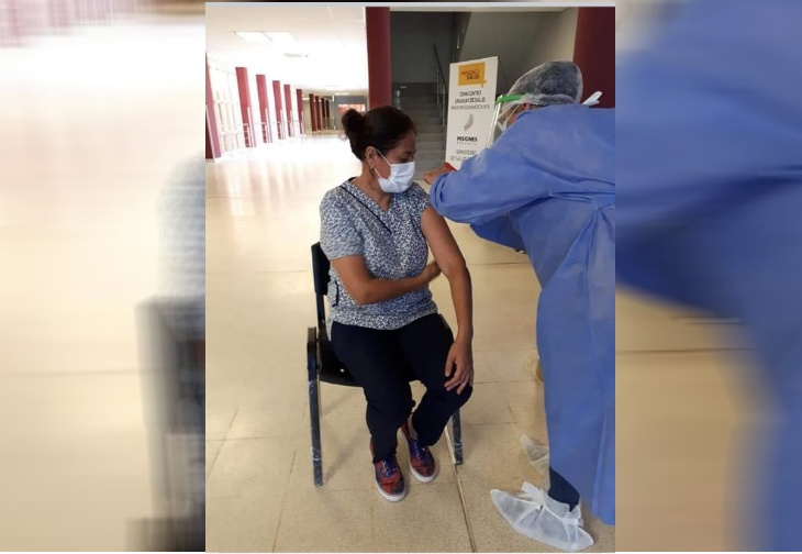 Coronavirus en Misiones: vacunaron a 114 trabajadores de la salud en el Hospital Samic de Oberá