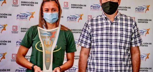 Eldorado: Araceli Oviedo es la deportista de Oro temporada 2019- 2020