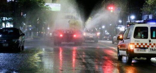 Eldorado: hoy se realizará limpieza y sanitización de la avenida principal y espacios públicos