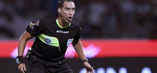Fernando Rapallini, el árbitro elegido para el Boca-River
