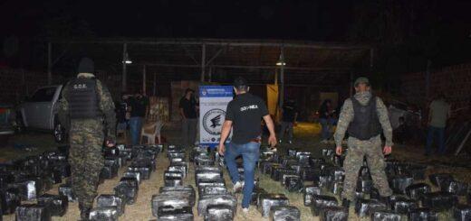 Secuestraron un millonario cargamento de marihuana en Misiones
