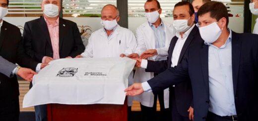 """Eldorado: """"Inauguramos el Hospital Pediátrico más lindo del país"""" dijo el ministro de Salud Pública, Oscar Alarcón"""