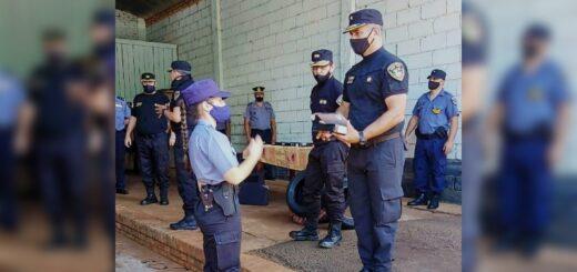 Entregaron armamentos y elementos de seguridad a las Unidades Regionales de Eldorado, Puerto Rico, Bernardo de Irigoyen y San Vicente