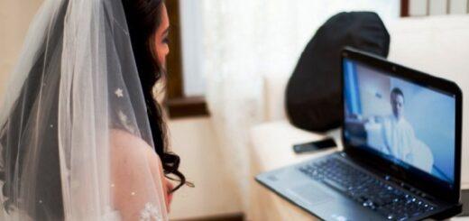 Una mujer de Apóstoles, la primera misionera en contraer matrimonio a distancia, con el novio en Entre Ríos