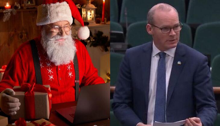 Declararon a Papá Noel «trabajador esencial» en Irlanda para que pueda regalar en Navidad