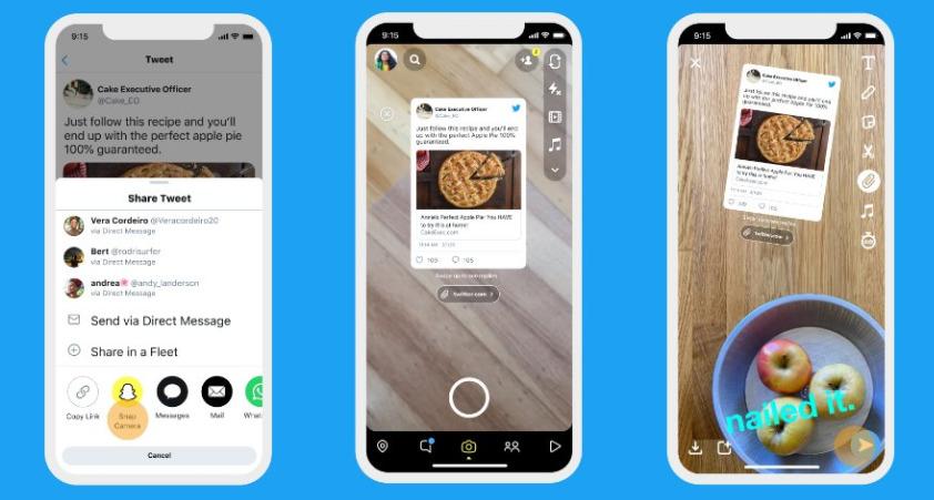Twitter permite compartir en otras plataformas e Instagram deshabilita republicar contenidos