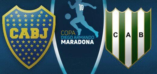 Boca se enfrenta a Banfield en la final de la Copa Diego Armando Maradona