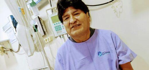 Dieron el alta por coronavirus al expresidente Evo Morales