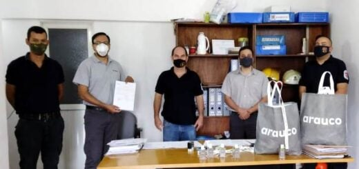 Zona norte: ARAUCO entregó más de 10 mil kits de alcohol en gel para continuar con la prevención del Covid-19