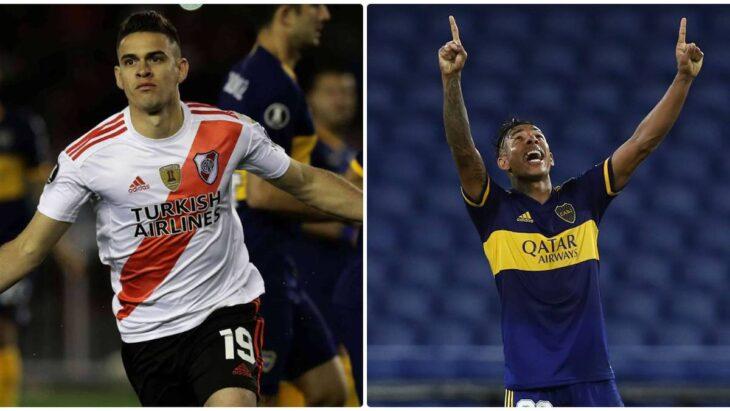 Boca y River terminaron empatados 2 a 2 en La Bombonera, con la inspiración de Tévez, minutos antes del final