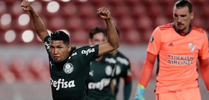 River cayó 3-0 frente a Palmeiras en la primera semifinal de la Copa Libertadores